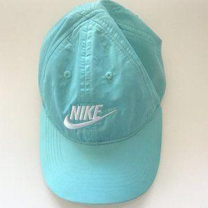 NIKE JUST DO IT BLUE GIRLS' HAT BLUE